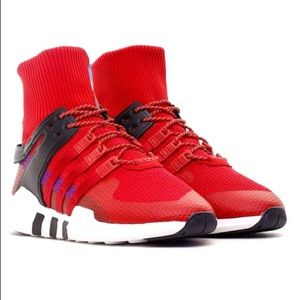 Red Adidas Classic Winter